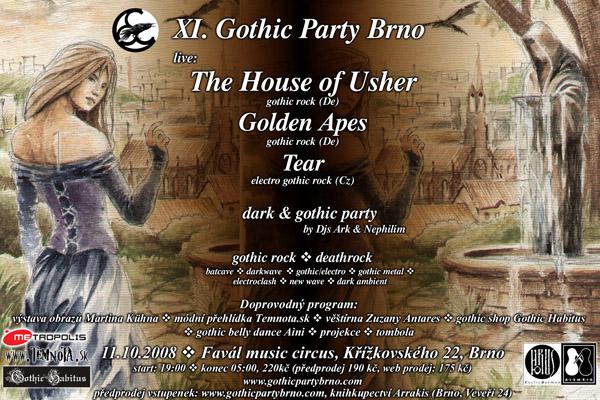 XI. Gothic Party Brno