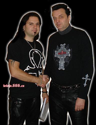 Petr Štěpán (vpravo) a Nosferatu