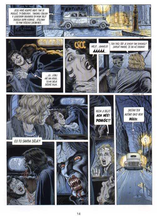 Princ noci - Dopis inkvizitora - Le Prince de la Nuit - Le Lettere de l´inquisiteur